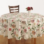 Pink Blush Round Table Linen – 8107
