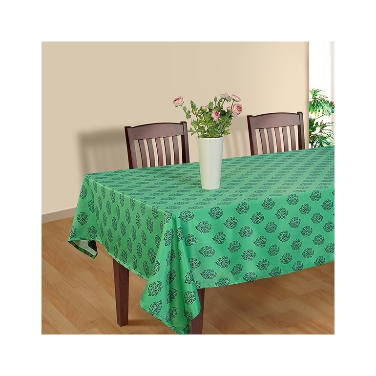 Buy Floral Green Sigma Rectangular Table Covers Of  : floral green cover from www.swayamindia.com size 770 x 770 jpeg 102kB