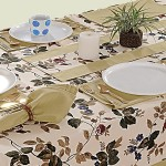 Wheat Printed Rectangular Table Linen-619
