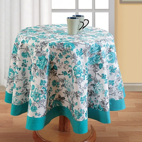 Printed Round Table Linen- 2711