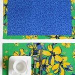 Table Mat And Napkin - 2409