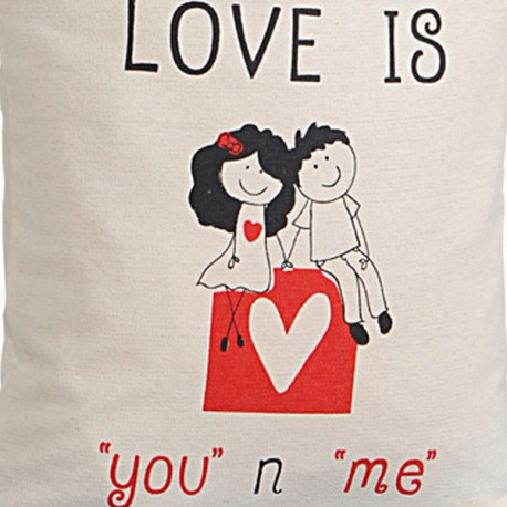 Cute Love Canvas Graffiti Bag- Friendship Bag – 653