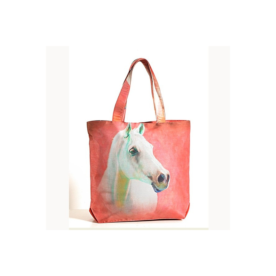 Snowy Horse Animal Theme Bags- Horses-3