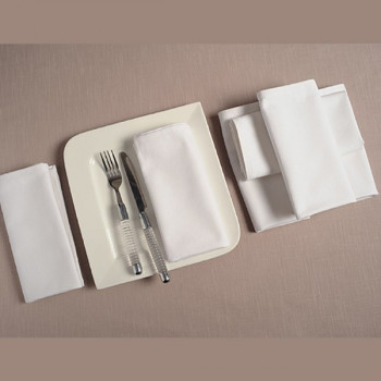 Ivory Flawless Dinner Napkins Sets – TN06-White