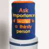 Majestic Blue Water Bottle Covers - BTL- IMP-OF –WTR
