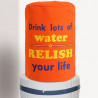Peach Carrot Water Bottle Covers