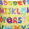 Alphabets Kids Cushion Cover- KCC-109