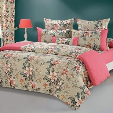 Rose Pink Flowers Duvet Covers, Comforters & Quilts-Shades of Paradise-3537