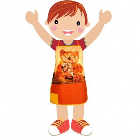 Bear Kids Apron-KAP-125