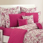 Wine Floral Bed Sheet- Shades Of Paradise (D. No. 2712)