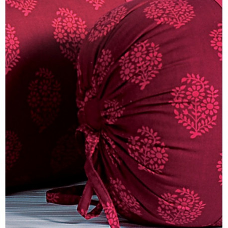Pink Daisies Bolster Cover-3008