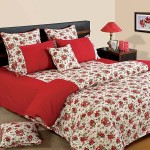 Rose Motifs Bed Sheet – Shades of Paradise - 6904
