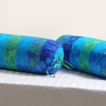 Bright Turquoise Bolster Cover – 1812