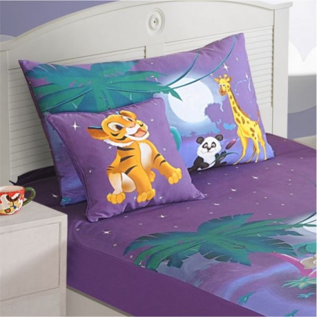 Moonlight Kids Bed Sheet- SBK-140