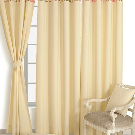 Solid Curtains Plain-3612