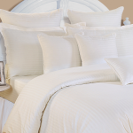 White Pearl Bed Sheet- Ivory Pearl