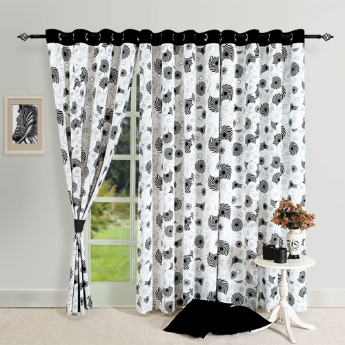 Swirl Magic Printed Curtains – 5005
