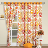Blaze Yellow Curtains-5904