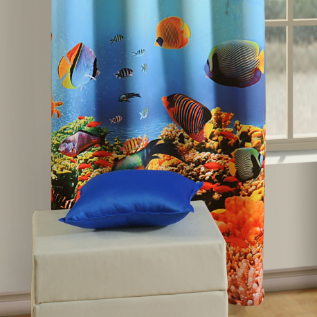 Fish Lounge Curtains-1105