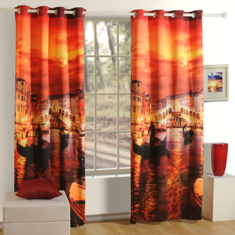 Venice Lounge Curtains- 1107
