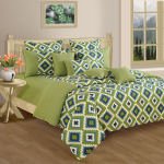 Flower Field Fitted Bed Sheet, shades n more-1408
