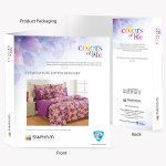 Colors of Life Bed Sheet- 2604