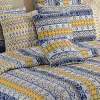 Autumn Bliss Bed Sheet- Shades of Paradise- 9012