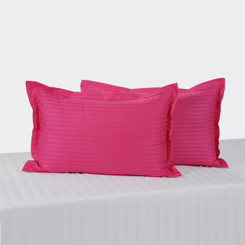 Indian Pink Pillow Cover