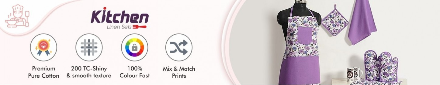 Kitchen Linen Sets - Solid