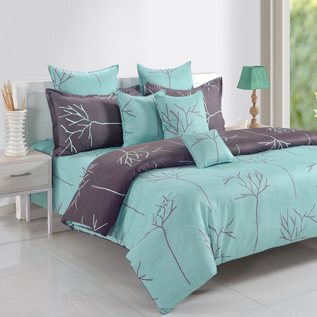 Double Glory Shade Ananda Bed Sheets- 14016