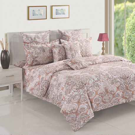 Super Floral Veda Bed Sheet– 12030