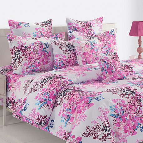 Veda Collection Bed Sheet Set- 12034