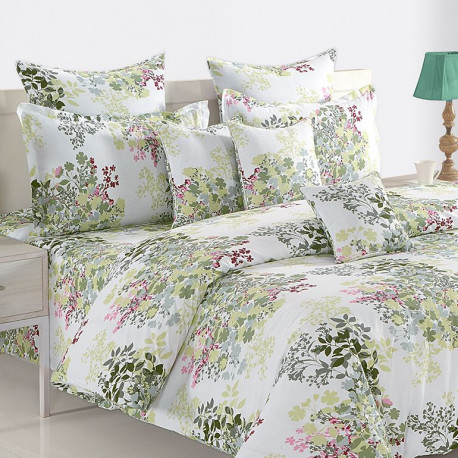 Veda Collection Bed Sheet Set- 12035