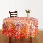 Large Size Round Table cover-1333