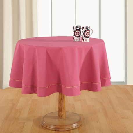 Dusty Rose-Plain Round Table Linen-764