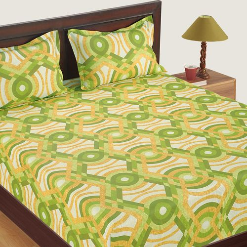 Veda Collection Bed Sheet Set- 12014