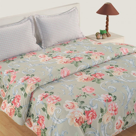 Veda Collection Bed Sheet Set- 12020
