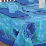 Printed Rectangle Table- 6715