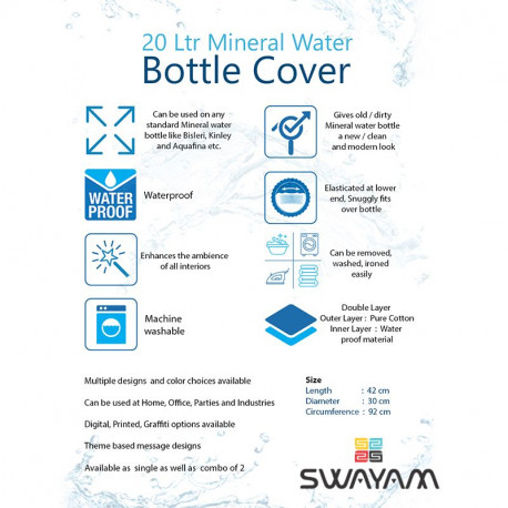 Water Bottle Cover - BTLCVR - 7009