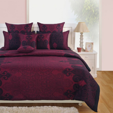 Zinnia Fitted Bed Sheet- 1861