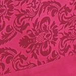 Cerise Printed Rectangular Table Linen-9008