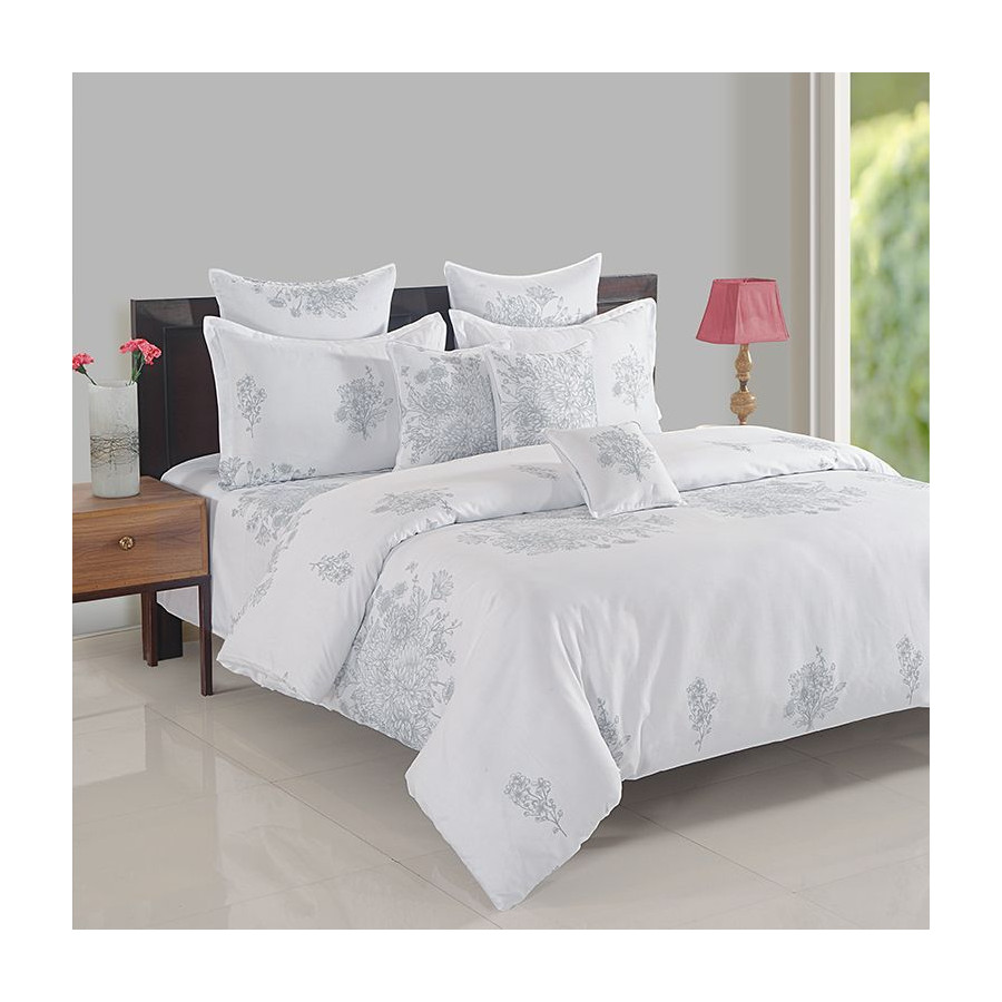 Zinnia Fitted Bed Sheet- 15023