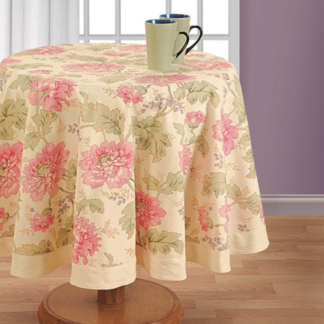 Printed Round Table Linen- 3612
