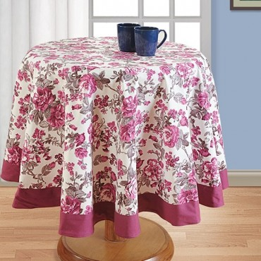 Printed Round Table Linen- 2712