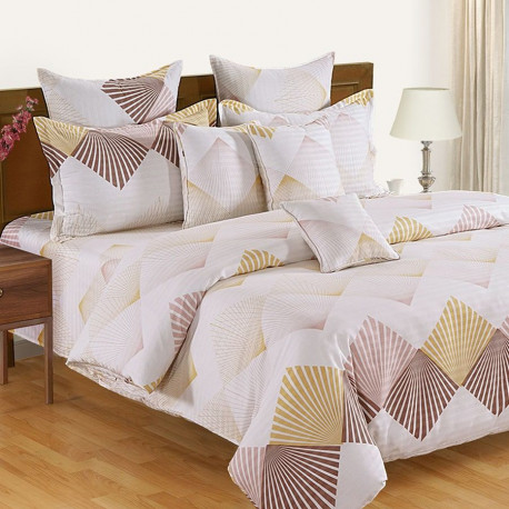 Zinnia Fitted Bed Sheet- 15058