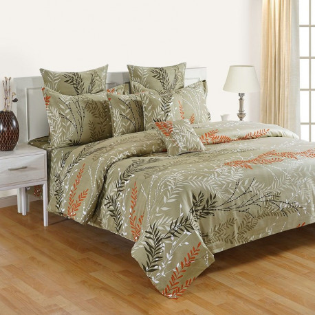 Zinnia Fitted Bed Sheet- 15069