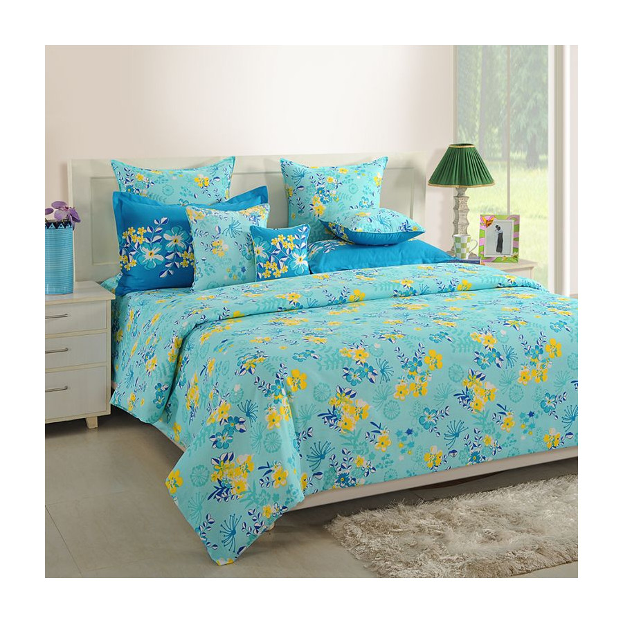 Sparkle Fitted Bed Sheet- 1218