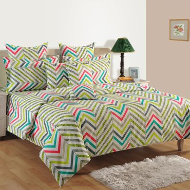 Sparkle Fitted Bed Sheet- 1221