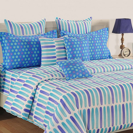 Sparkle Fitted Bed Sheet- 1224