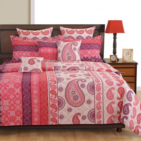 Sparkle Fitted Bed Sheet- 8210